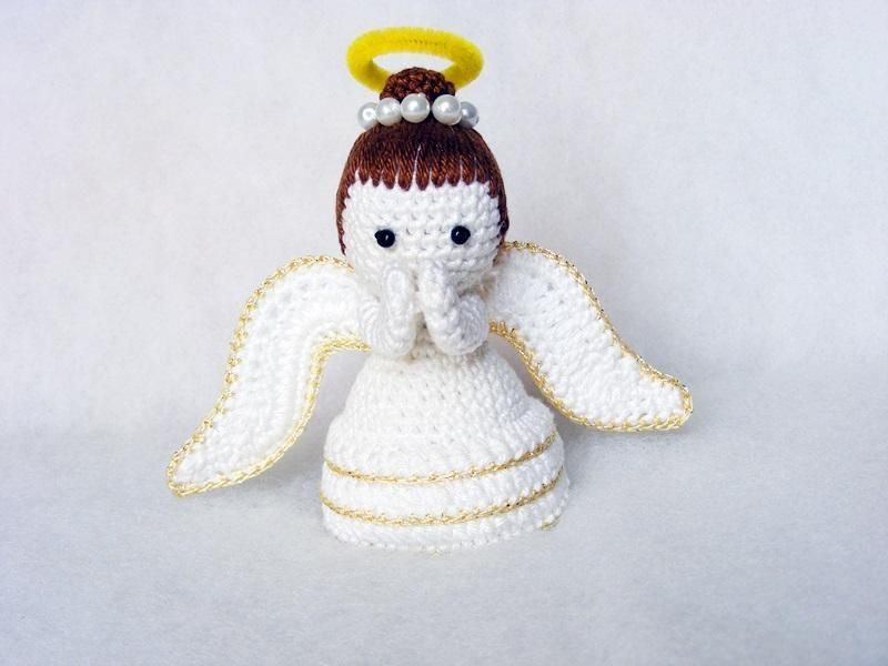 4) Name: \'Crocheting : HUN- Amigurumi angyal leirasa | Horgolás ...