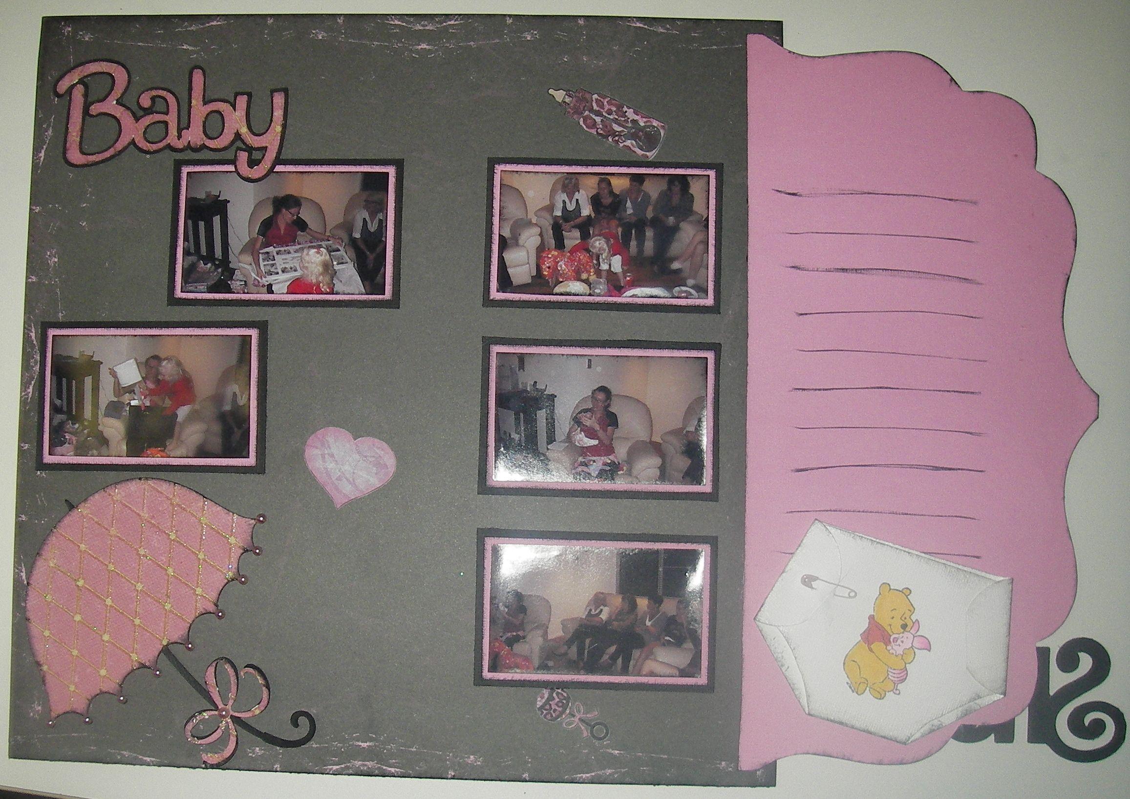 Baby Shower Scrapbook Scrapbooking Ideas Pinterest Baby
