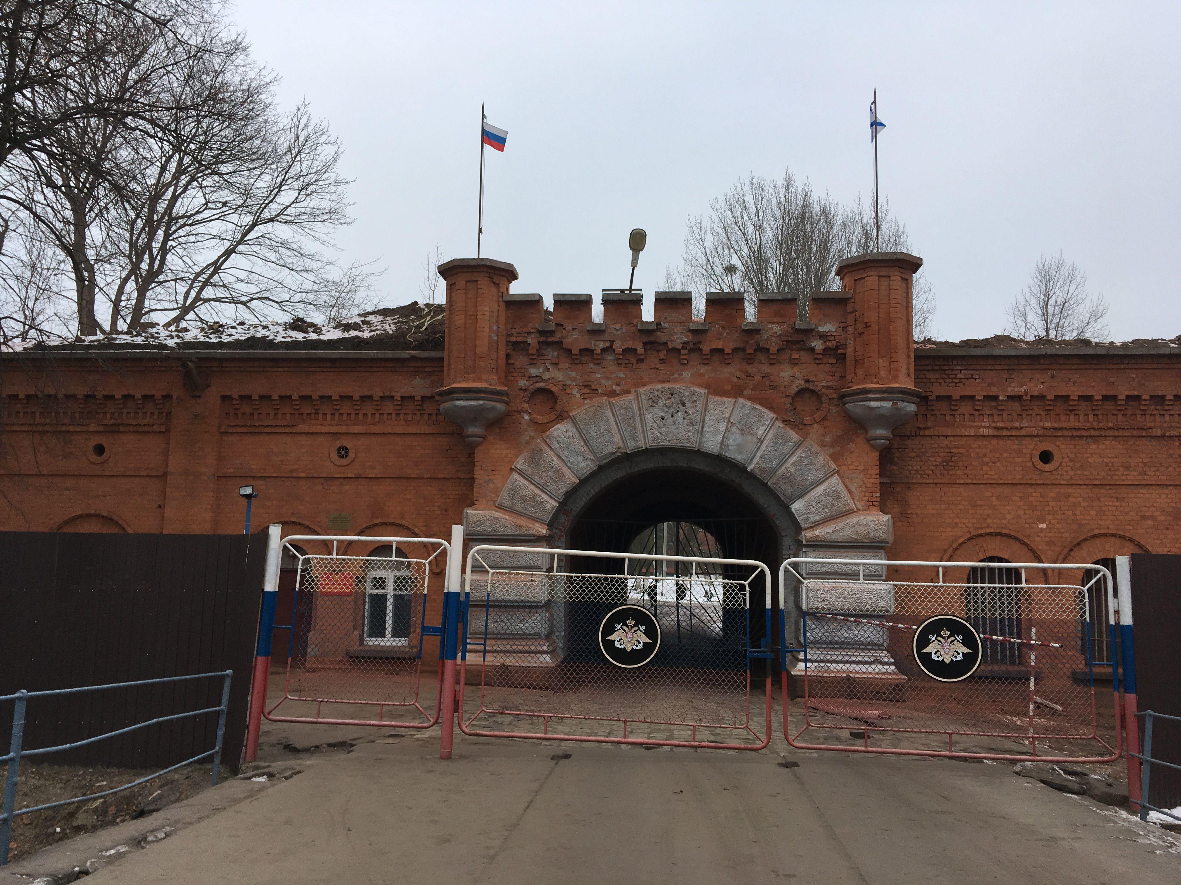 Ворота крепости Пиллау. Фото: Vladimir Shveda
