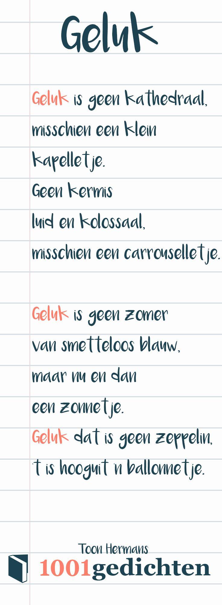 Beroemd Toon Hermans gedicht. Gedicht over geluk. Wat is jou definitie van #TN79