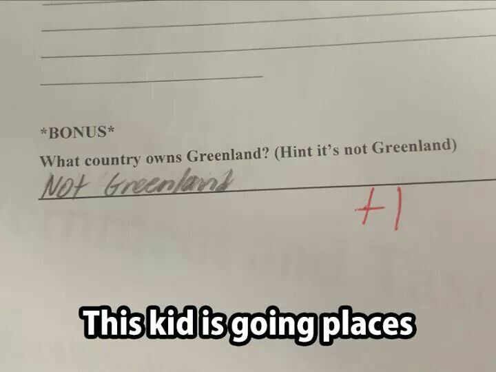 New Funny Test Answers 10