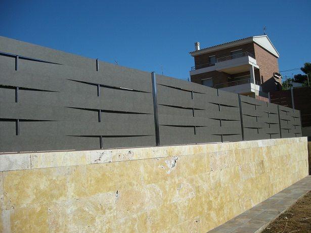 Modelos de valla las vallas de ocultaci n blog de - Vallas para casas ...