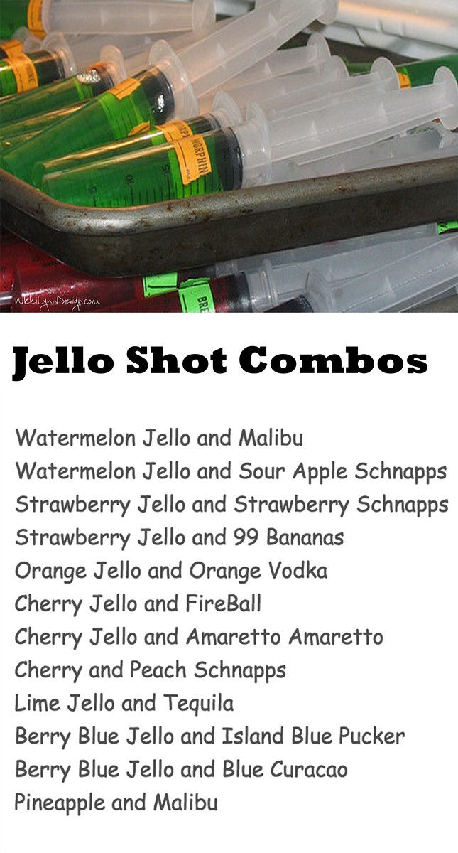 How To Make Jello Shots or Shooters In Syringes | Nikki Lynn Design