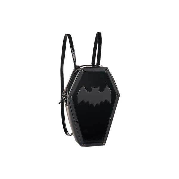 Bat backpack ($20) ❤ liked on Polyvore featuring bags, backpacks, accessories, gothic bags, rucksack bags, goth backpack, day pack backpack and backpack bags