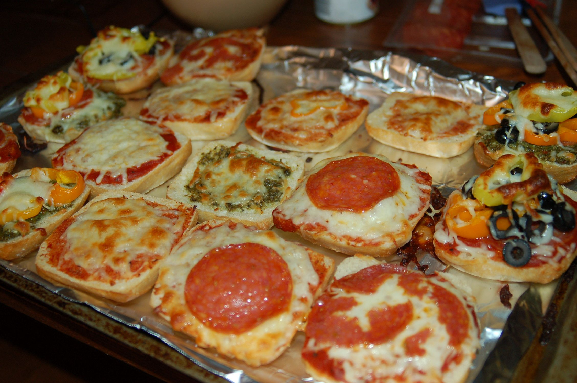 The Sleepover Solution Build Your Own Pizza Bar
