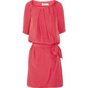 Vanessa Bruno Crepe wrap-effect dress