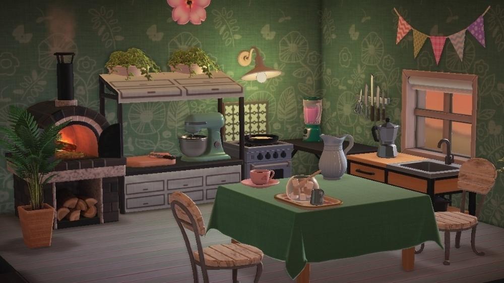 Acnh Brown Brick Google Sök In 2020 Animal Crossing Room Themes Design