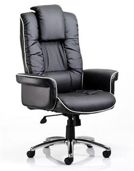 Lombardy Luxury Leather Chair