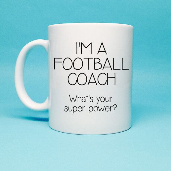 Gift For Football Coach - Football Coach Birthday Gift - Personalized Coach Gift - Coffee Mug - Unique Gift Idea - Funny Gift - Coach Gift