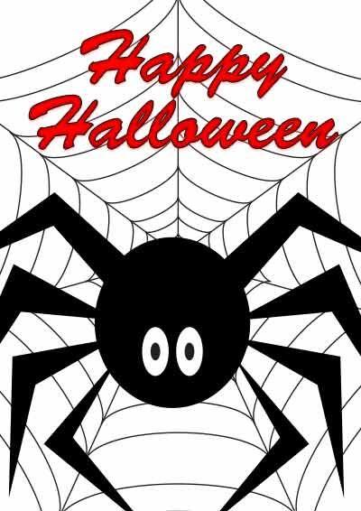 Free Printable Halloween Cards - my-free-printable-cards.com ...