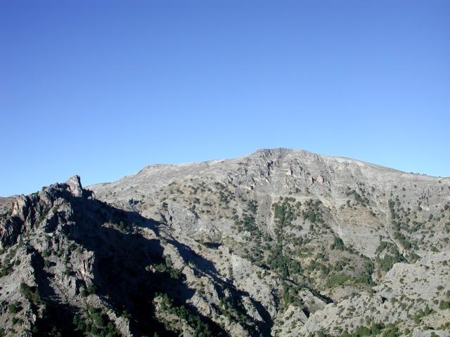 El pico Empanadas en Cazorla (Jaén)