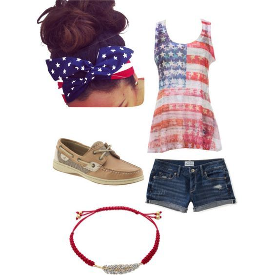 Top 16 Patriotic Casual Woman Outfits For July 4th – Famous Spring Holiday Fashion - Easy Idea (13)