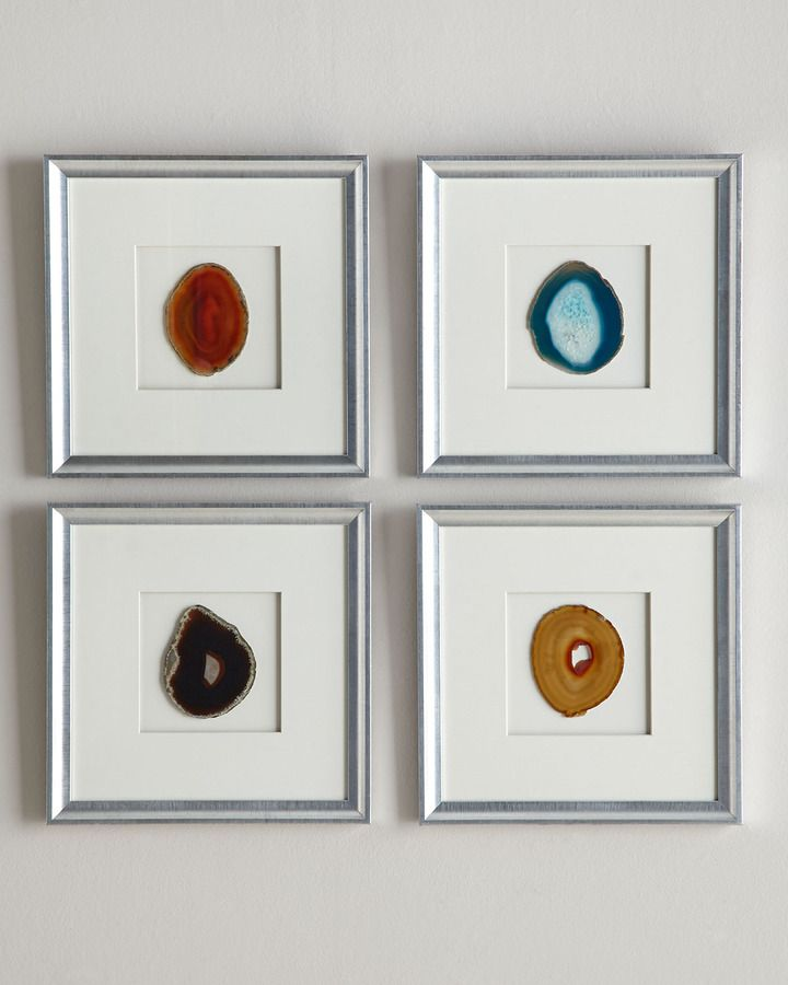 Framed Agate Wall Decor 245 Home Wall Decor Metal Wall Decor