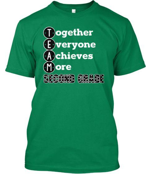 0b098924 Pin by Teacher T's on I love Second Grade!   School shirts, Teacher ...