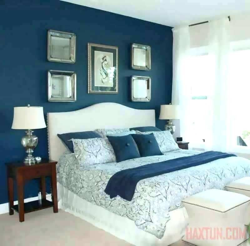 Two Colour Combination For Bedroom Walls Green And Blue