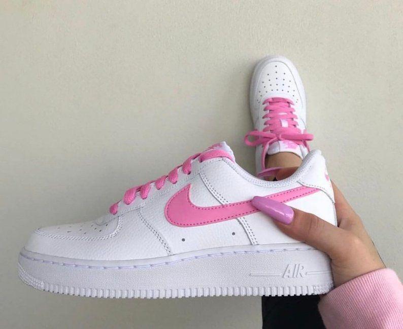 Pink Air Force 1 | Etsy | Nike air
