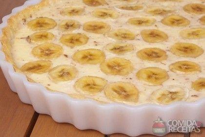 Receita de Torta de banana com canela - Comida e Receitas