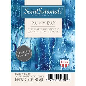 """ScentSationals Rainy Day """"Pure Water Lily and the Warmth"""