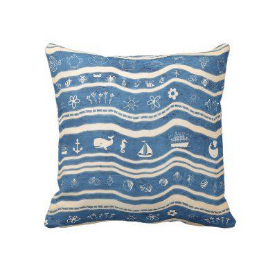 Happy Summer Time Pillows from Zazzle.com
