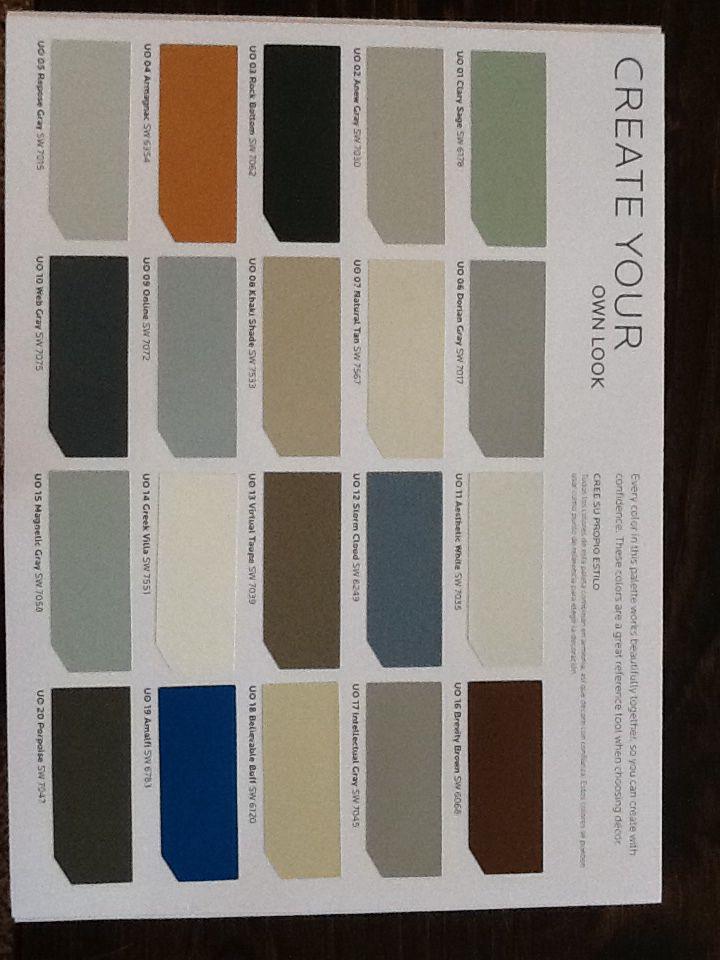 Sherwin Williams Car Paint Color Chart - Paint Color Ideas