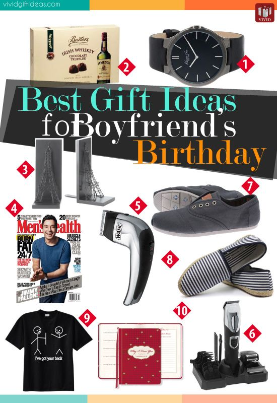 Best gift ideas for boyfriend 39 s birthday birthdays and gift for Presents for boyfriends birthday