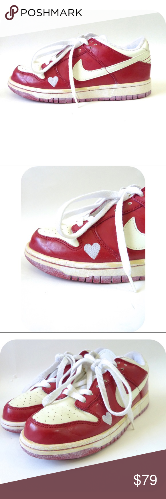Nike Dunk Low Red Valentines Day Shoes 6 5 In 2018 My Posh