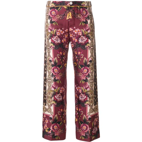 antique floral print trousers - Brown F.R.S. For Restless Sleepers oP6xr5QZiy