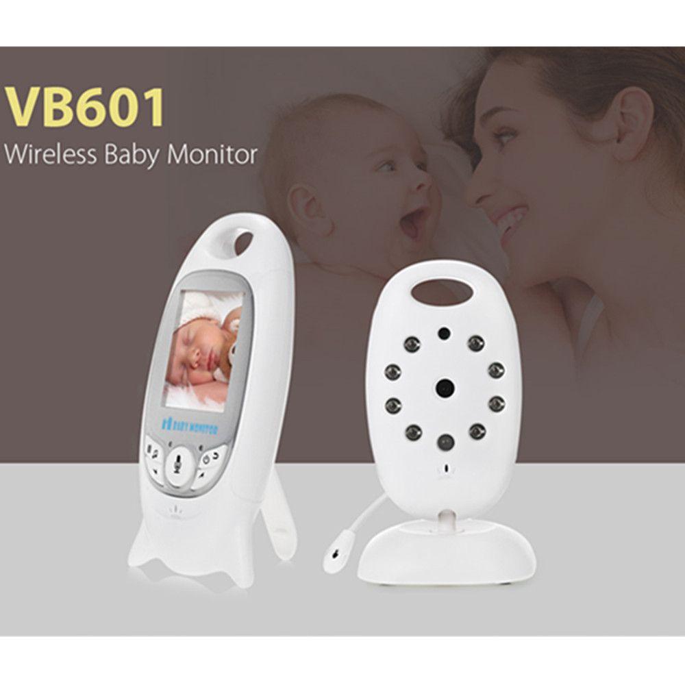 64a96cccf99 Comprar 2.4G Do Monitor Sem Fio Digital Video Baby Monitor de Visão Noturna  Mini Câmera de Segurança Nanny Monitor de Temperatura com Canção de Ninar