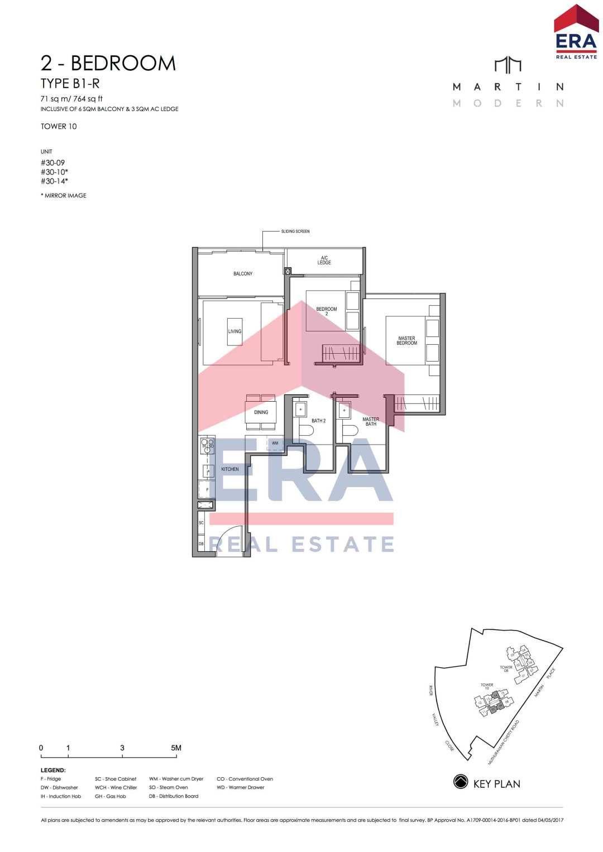 Martin Modern 2 Bedroom Floor Plan Type B1 Floor Plans 2 Bedroom Floor Plans 3 Bedroom Floor Plan