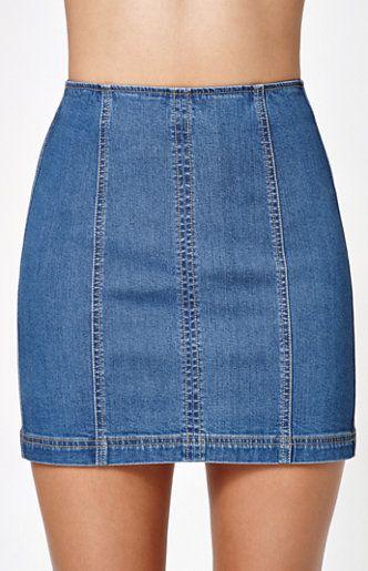 24927be254 Kendall & Kylie Paneled Back Zip Denim Skirt at PacSun.com | Dress 2 ...