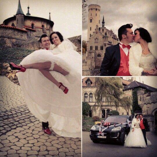 Schloss Lichtenstein Schloss Lichtenstein Schloss Rockabilly Hochzeit