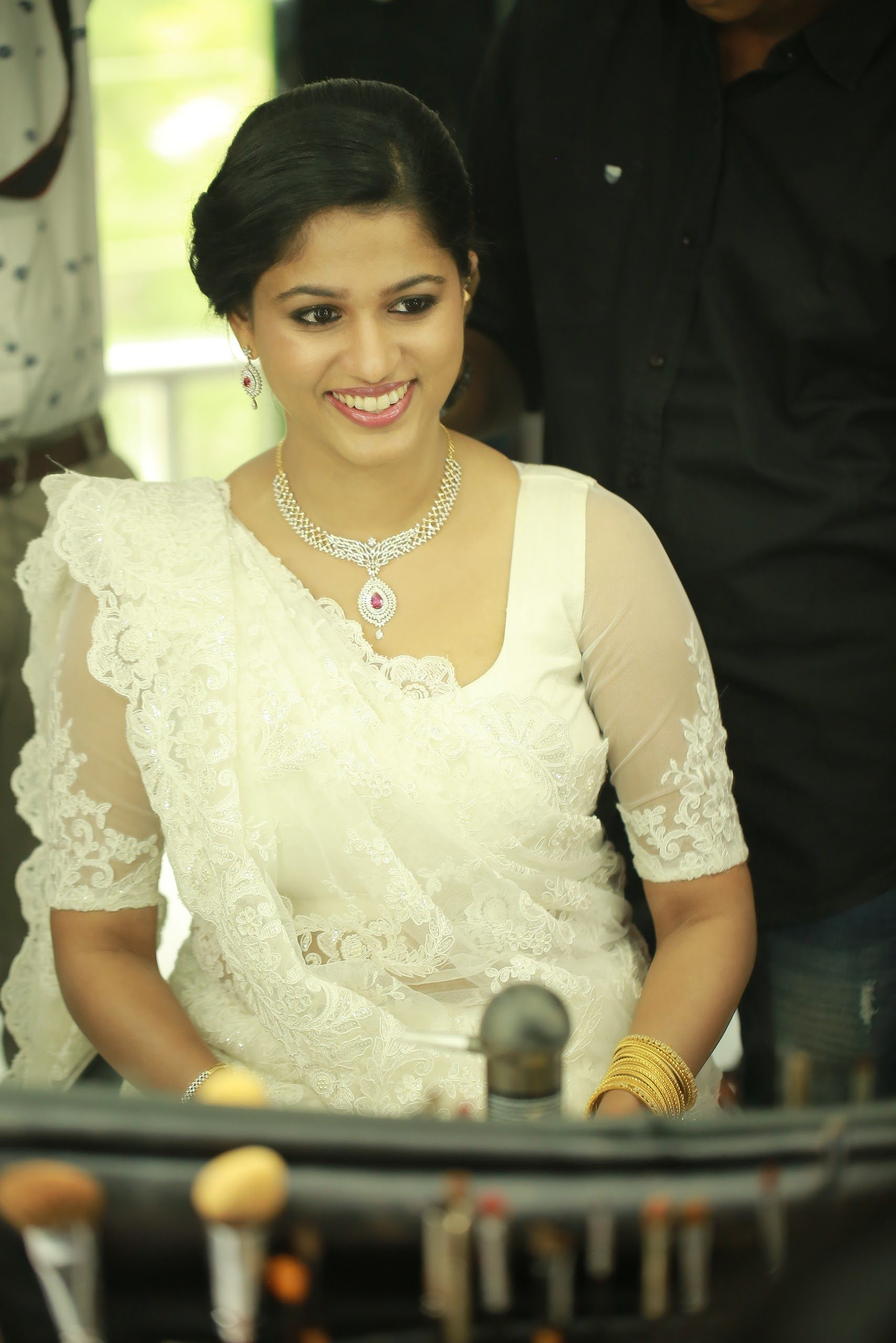 Christian Wedding White Saree Althea Bridals And Bespoke