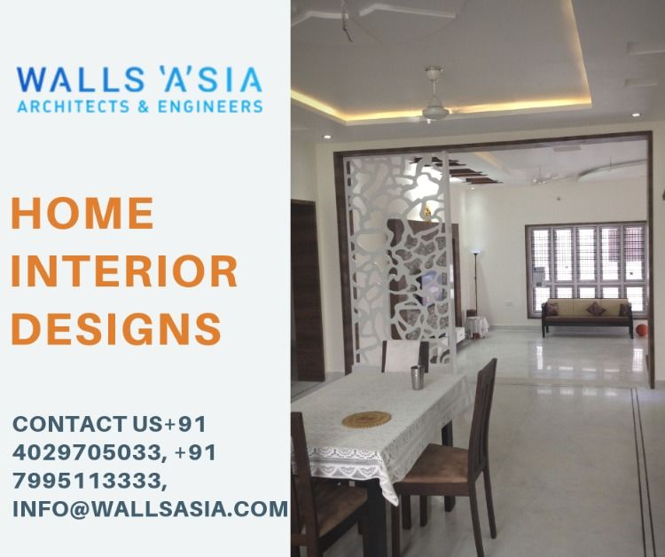 Home Interior Designs By Walls Asia Architects And Interior Designers Contact Walls Asia 91 4029705033 9 With Images Interior Designers In Hyderabad Home Interior Design