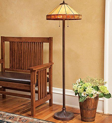 Tiffany-Style Stained Glass Mission Style Floor Lamp Plow & Hearth http://www.amazon.com/dp/B00P6WX8XS/ref=cm_sw_r_pi_dp_UIQDwb16J3GVD