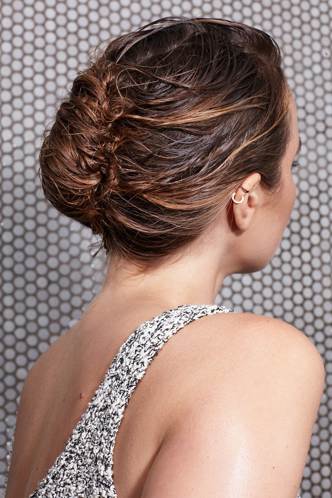 4 wet hairstyles to get you out the door fast  hair
