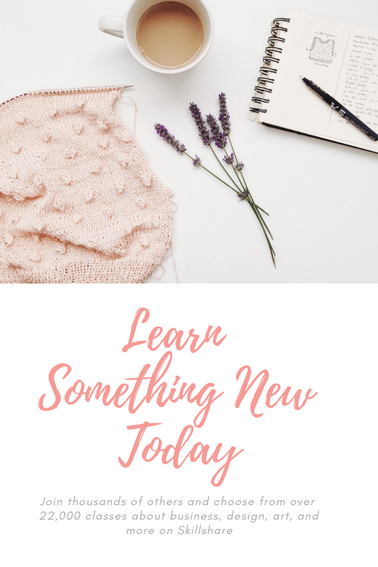 Learn something new - creative inspiration and online