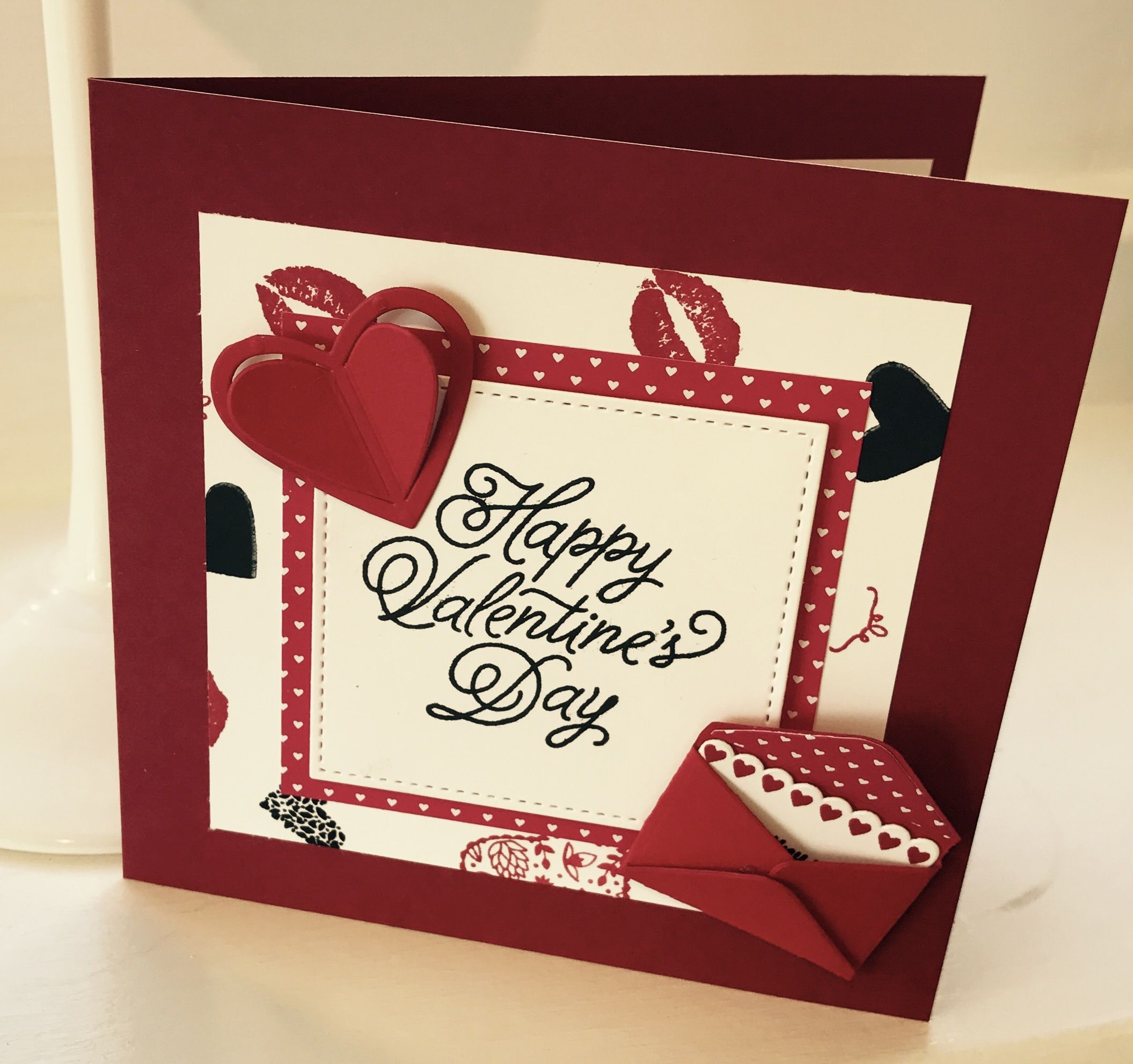 Cute valentines ️ Stampin up cards, Valentines, Stampin up