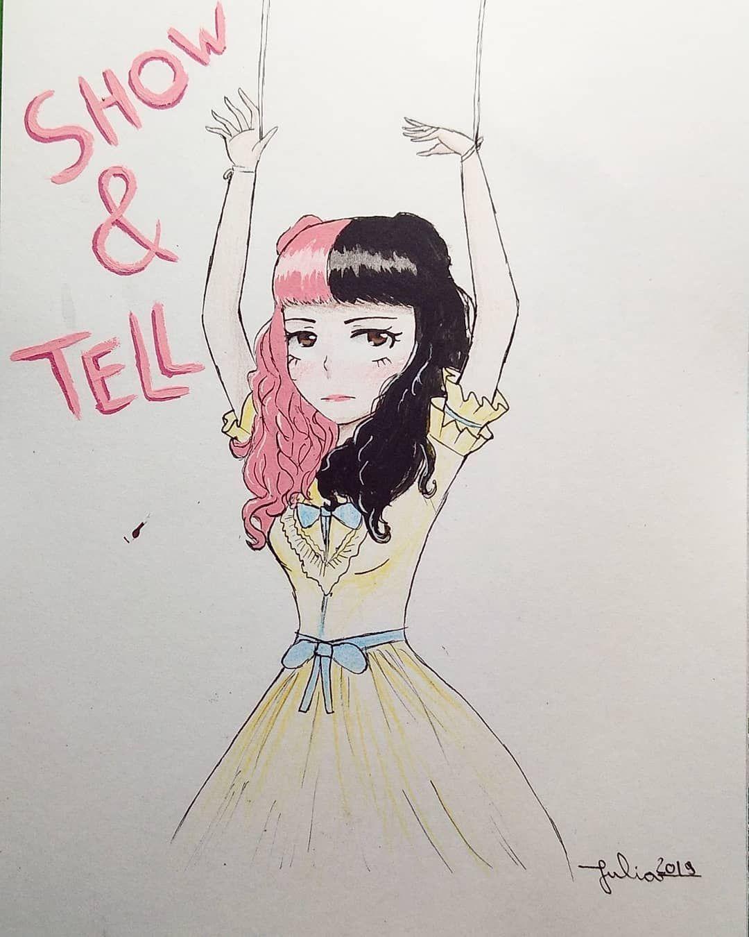 Show Tell Melanie Martinez K 12 Art Draw Girl Showandtell Melaniemartinez Melanie Martinez Drawings Crybaby Melanie Martinez Melanie Martinez Songs