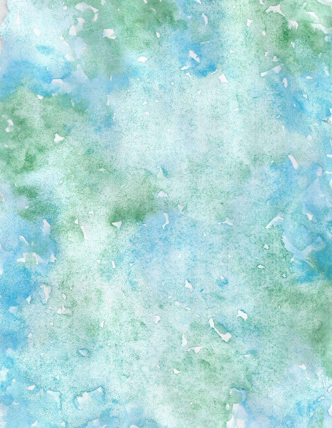 Blue Green Watercolour Background Watercolor Background