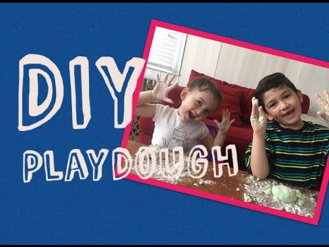 DIY HOW TO MAKE PLAYDOUGH - KIDS CRAFTS - YouTube