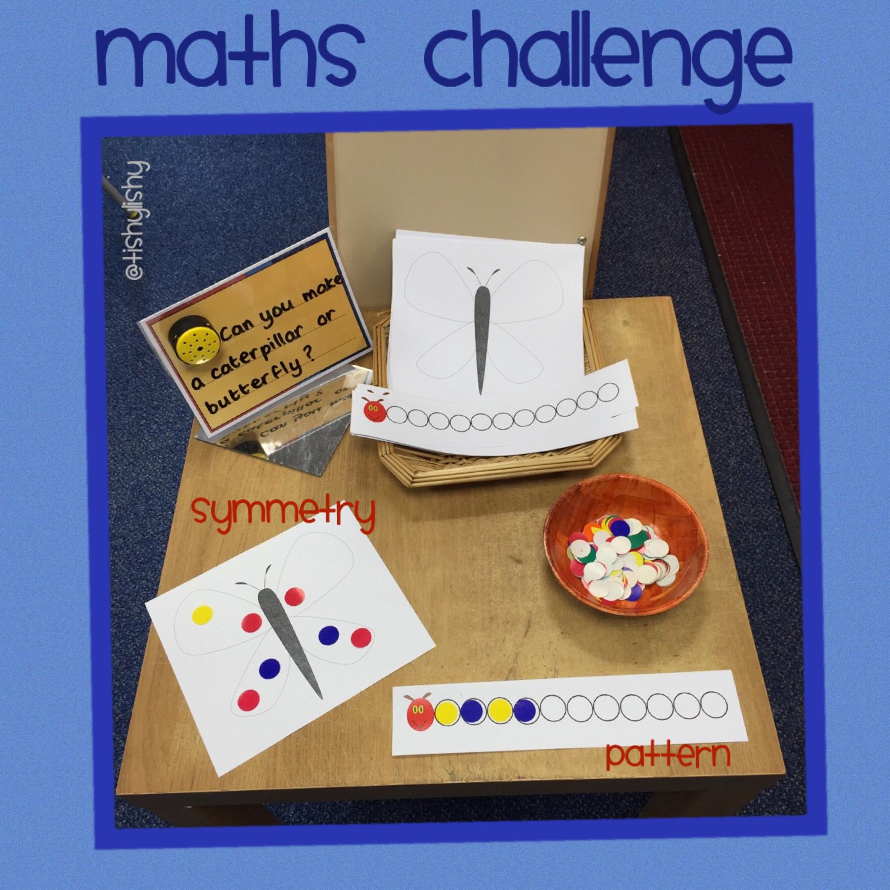 Maths Challenge With The Very Hungry Caterpillar Theme I