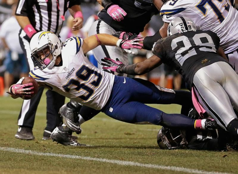 San Diego Chargers Running Back Danny Woodhead Nfl