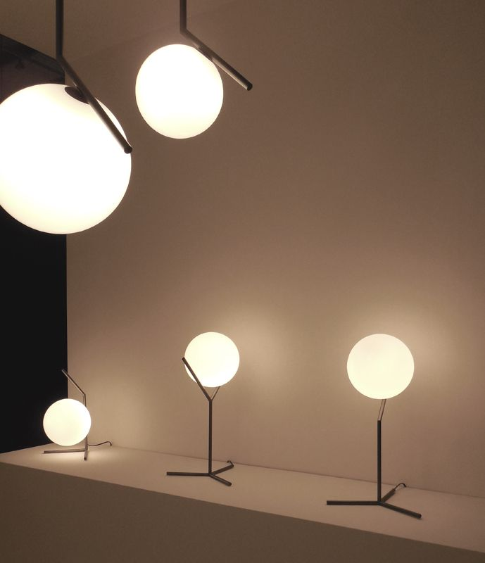 The IC table light by Michael Anastassiades for Flos.