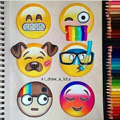 emoji iphone insta et effet snap dessins pinterest écran