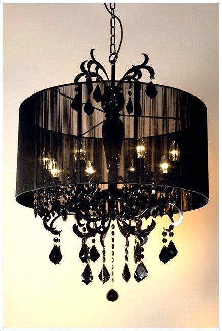 #worldlyrooms Paris Bedroom: Black Chandelier