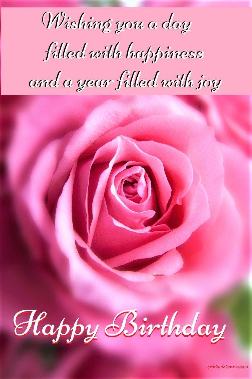 Welcome November Happy Birthday Beautiful Pink Roses Good