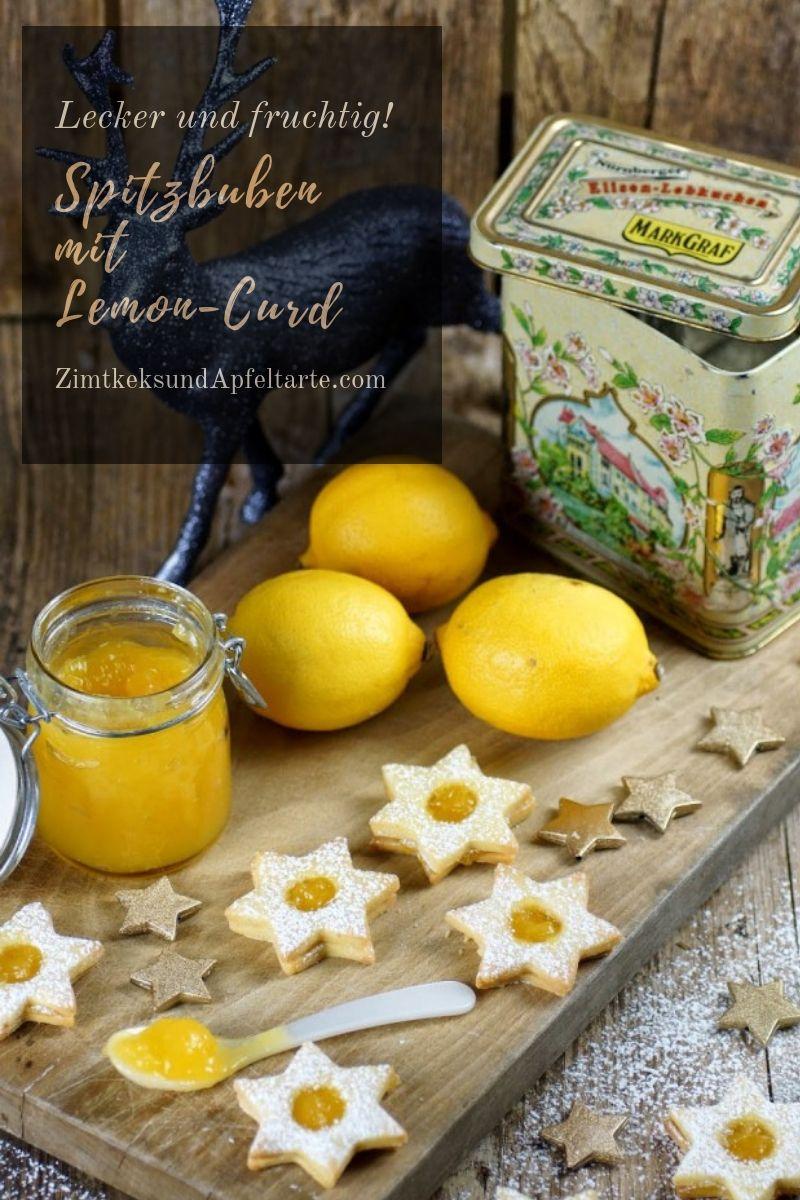 Spitzbuben mit Lemon-Curd oder Linzer Plätzchen #cookiepackaging