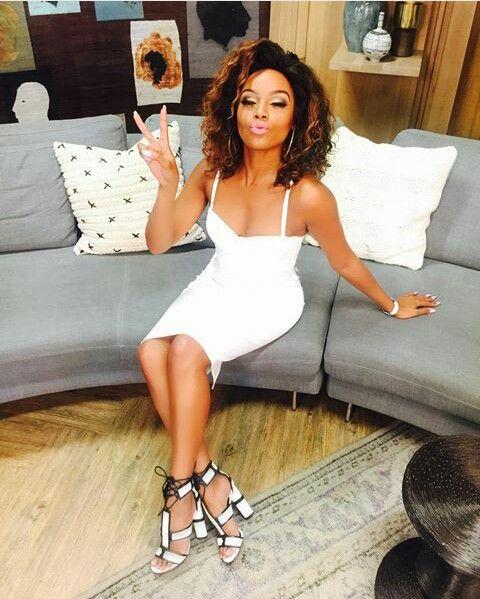 115052dcabf4 Bonang Matheba on her SABC 3 Afternoon Express show. Photo cred.    bonangmatheba on Instagram