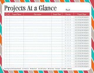 printable project planning sheets