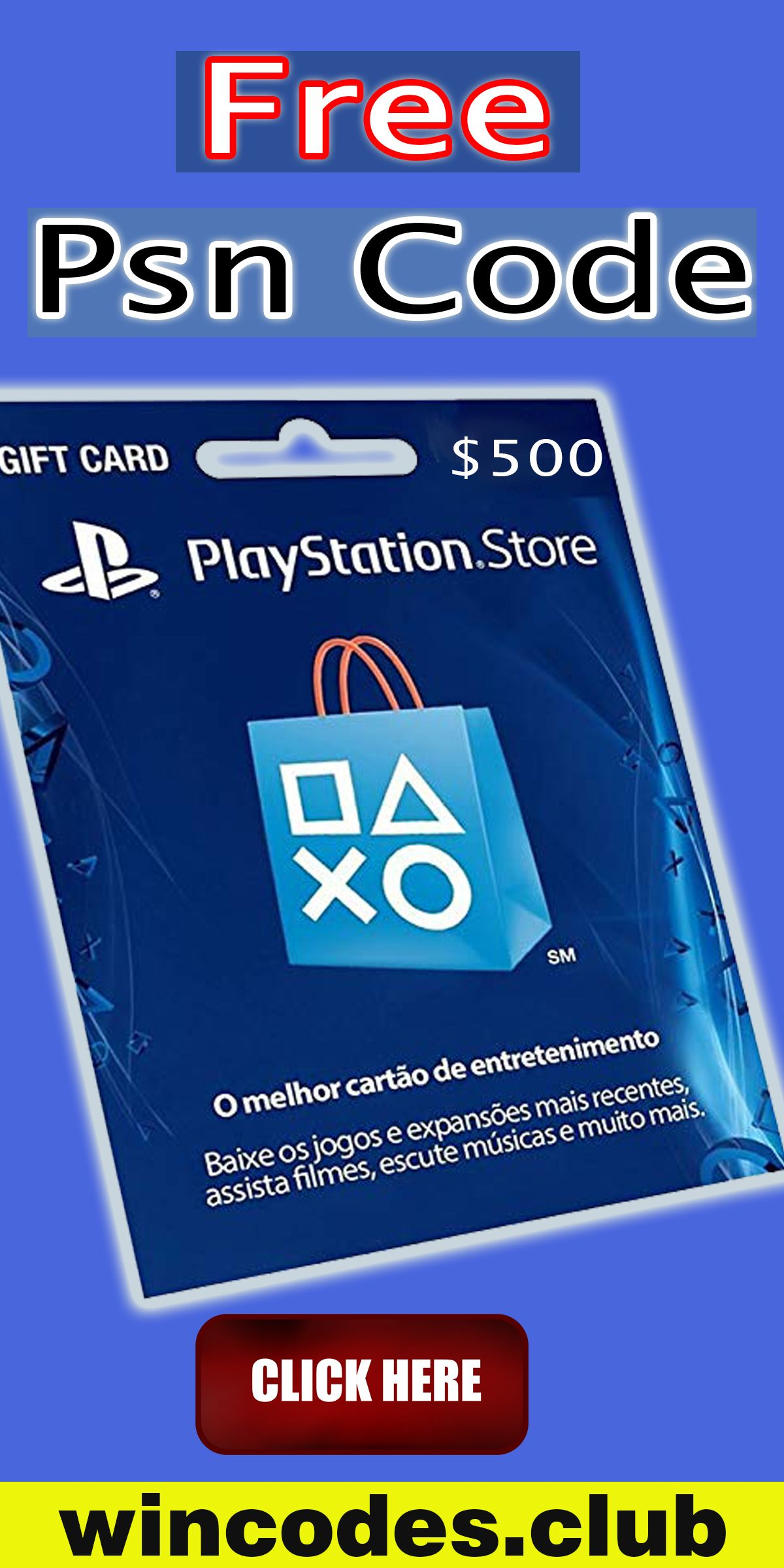 Get free psn codes in 2020 free gift cards online ps4